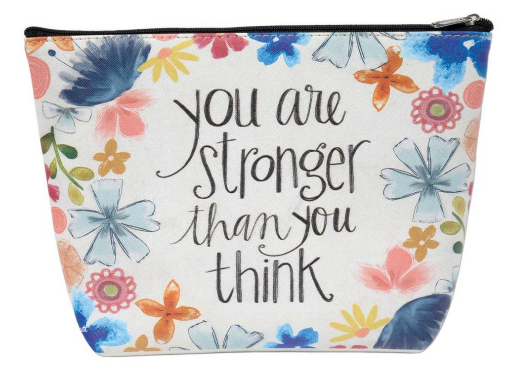 You Are Stronger Cosmetic Bag