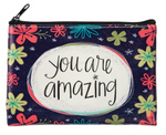 You Are Amazing Zippered Coin Purse