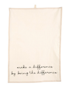 Make a Difference Tea Towel
