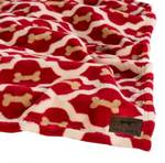 Bone Dog Blanket
