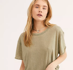 Free People Clarity Ringer Tee