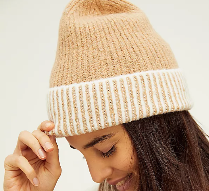 Straight Chill Ribbed Beanie (2 Colors)
