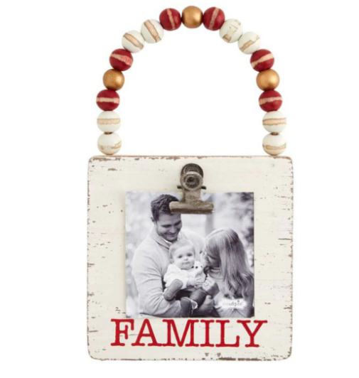 Family Wood Ornament