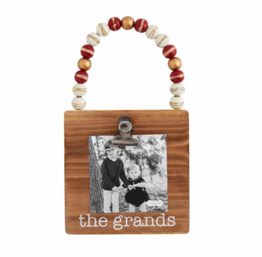 Grands Wood Ornament