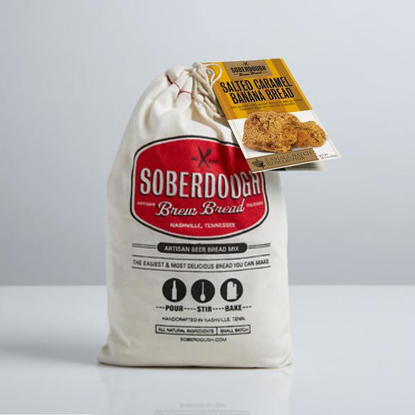 Soberdough Salted Caramel Banana Bread Mix