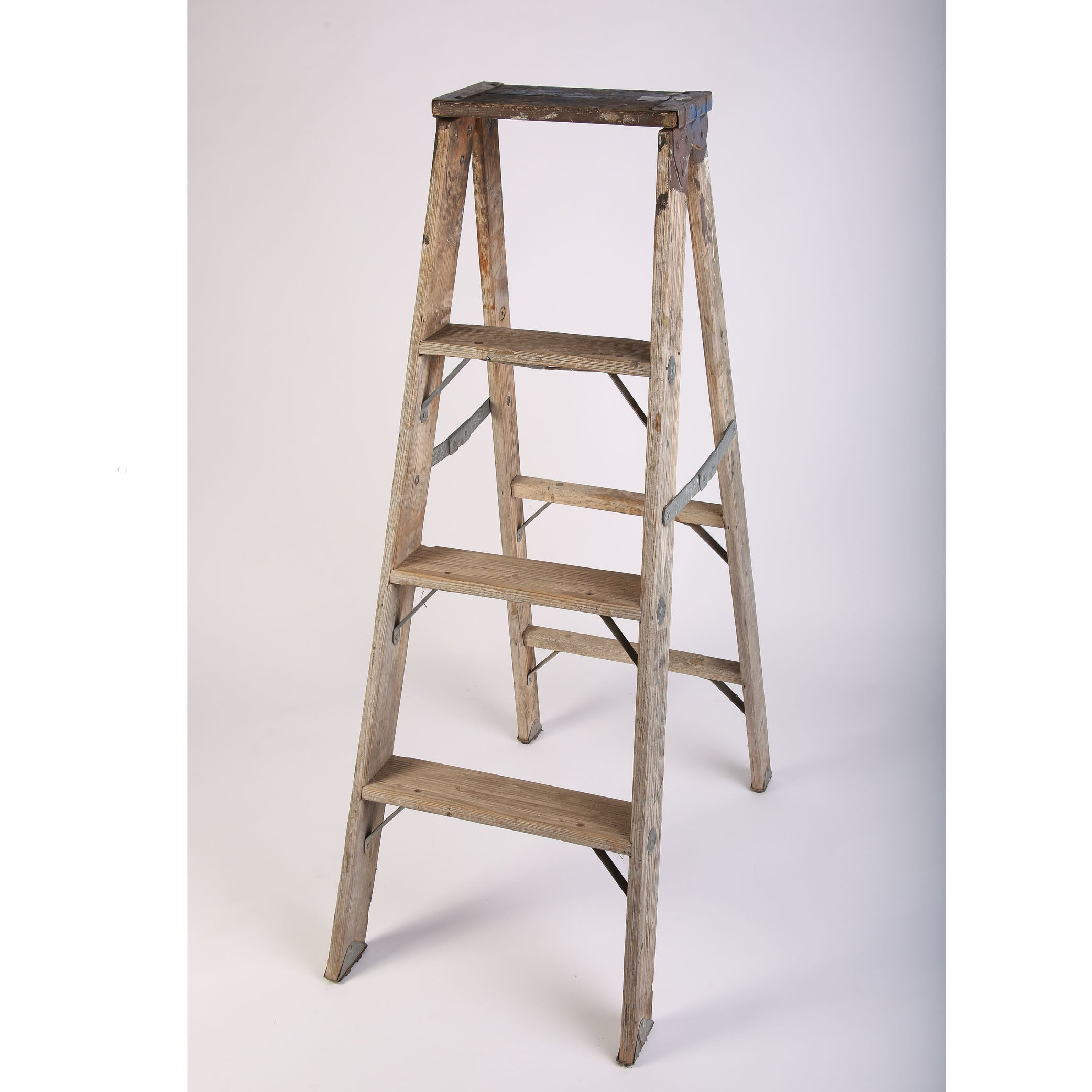 Blue Antique Ladder