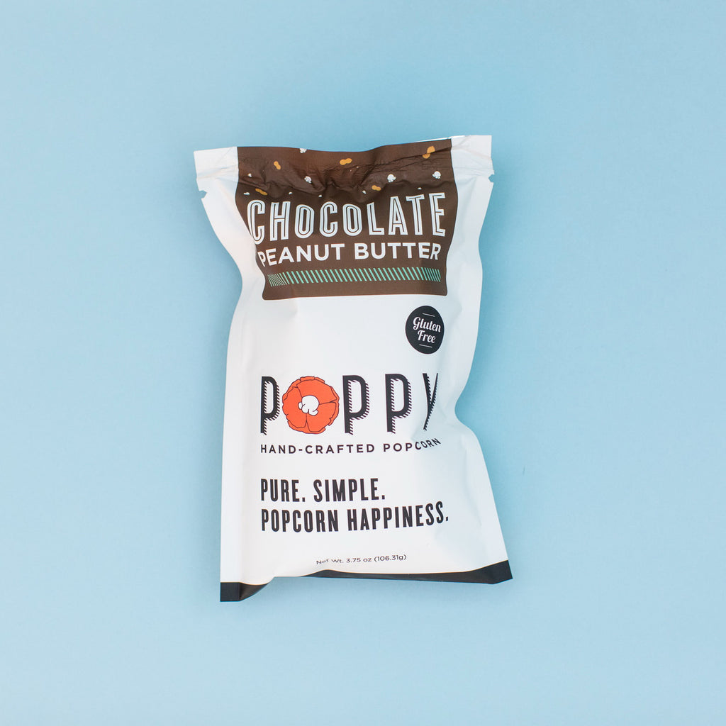 Poppy Chocolate Peanut Butter Snack Bag
