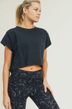 Boxy Crop Top