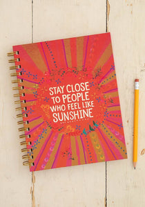 Sunshine Spiral Notebook