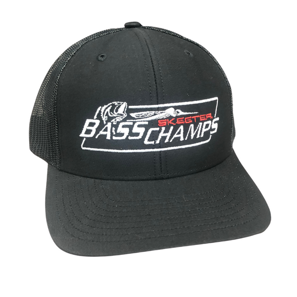 Bass Champs Black Logo Hat