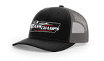 Bass Champs Black Trucker Cap