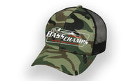 Bass Champs Camo Trucker Cap