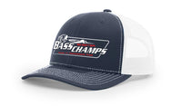 Bass Champs Navy Trucker Cap
