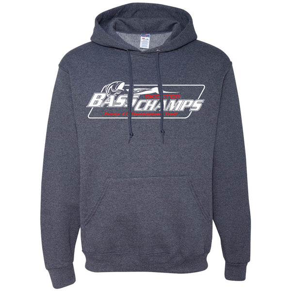 Vintage Navy Bass Champs Hooded Sweatshirt