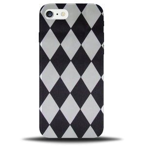 purchase cheap 835d7 7017e Black and White Diamond Chequered Phone Case Cover   Pattern Design Cool  B241