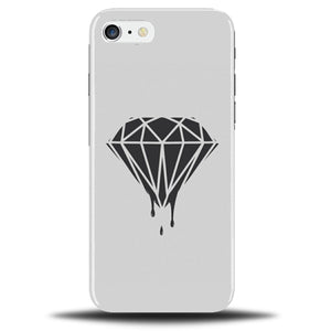 purchase cheap 17d6d 5a44a Black Diamond On White Phone Case Cover Cool Design Art Outline Silhouette  B757
