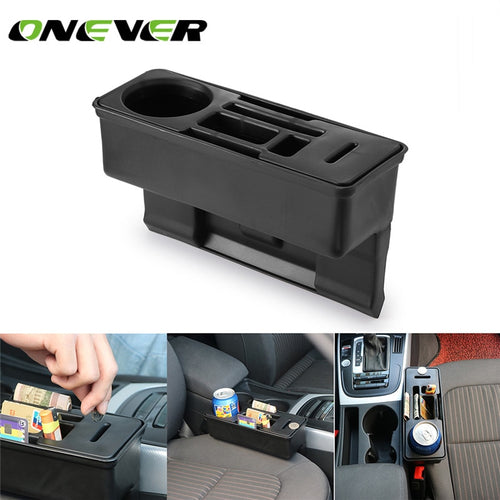 Car Console Side Pocket Seat Storage Organizer