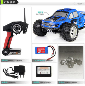 4WD 1:18 31 mph Wltoys A979 Monster RC Truck