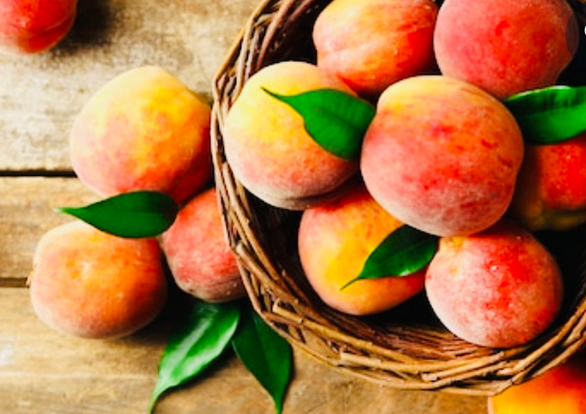 WHY YOU SHOULD EAT A PEACH