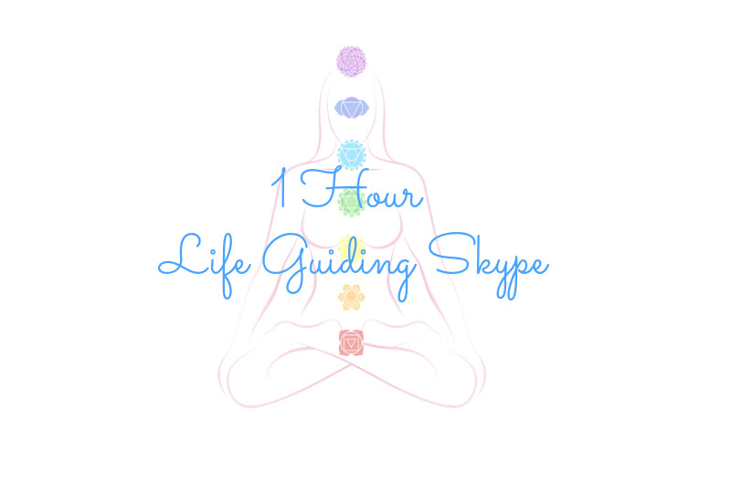 1 HOUR LIFE GUIDING SKYPE SESSION