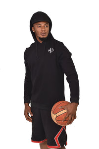 HAMMERS BLACK ONE-PIECE HOODIE & CAP (L/S)- SIGNATURE PIECE