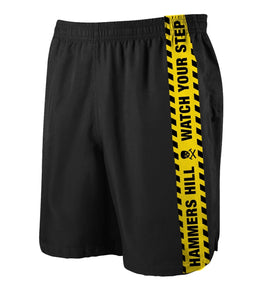 HAMMERS CAUTION TAPE SHORTS