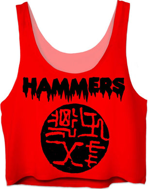 HAMMERS SANGRIA CROP TOP