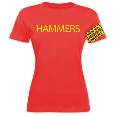 HAMMERS TAPED S/S T-SHIRT - LADIES