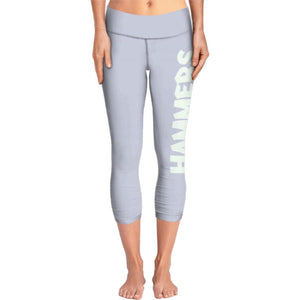 HAMMERS VENEZIA GREY LADIES 3/4 LEGGINGS