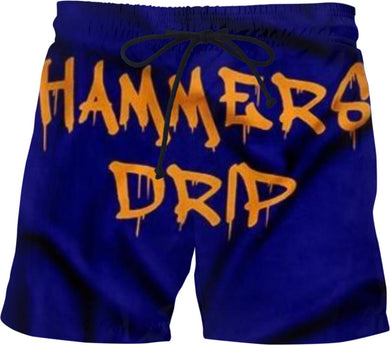 HAMMERS GRAFFITI SWIM SHORTS
