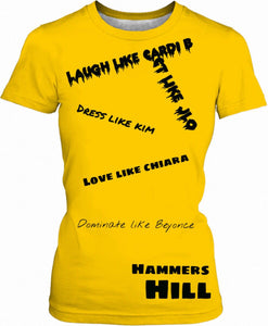 "HAMMERS ""RULES TO LIVE BY"" T-SHIRT"