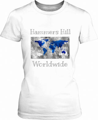 HAMMERS MAP T-SHIRT
