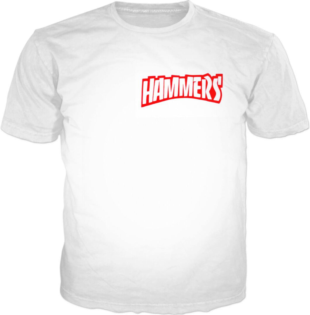 HAMMERS RED SPLASH T-SHIRT