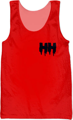 HAMMERS SANGRIA SLEEVELESS SHIRT