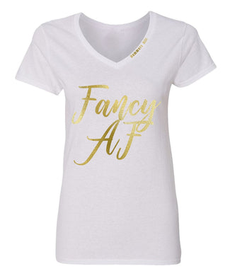 FANCY WHITE T-SHIRT