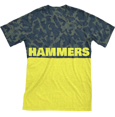 HAMMERS TWO TONE T-SHIRT (YELLOW CAMO)