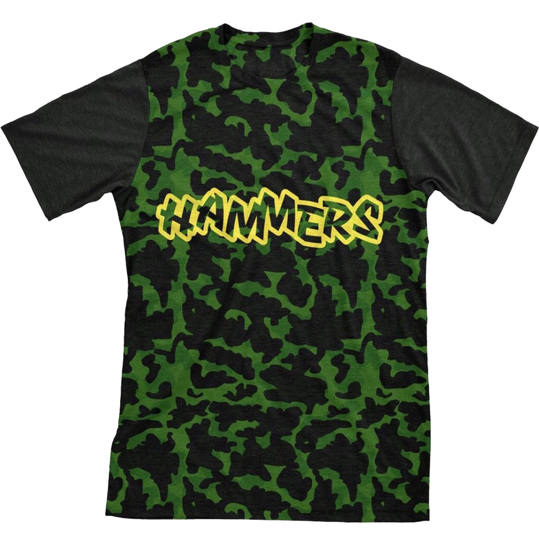 HAMMERS TWO TONE T-SHIRT (GREEN CAMO)