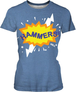 HAMMERS BURST T-SHIRT (BLUE)