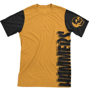 HAMMERS TWO TONE T-SHIRT (ORANGE & BLACK)