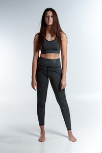 HIGH WAIST CHARCOAL ENVY LEGGING