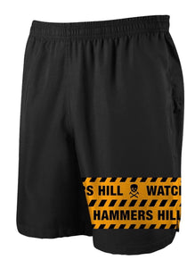 HAMMERS ORANGE TAPE SHORTS