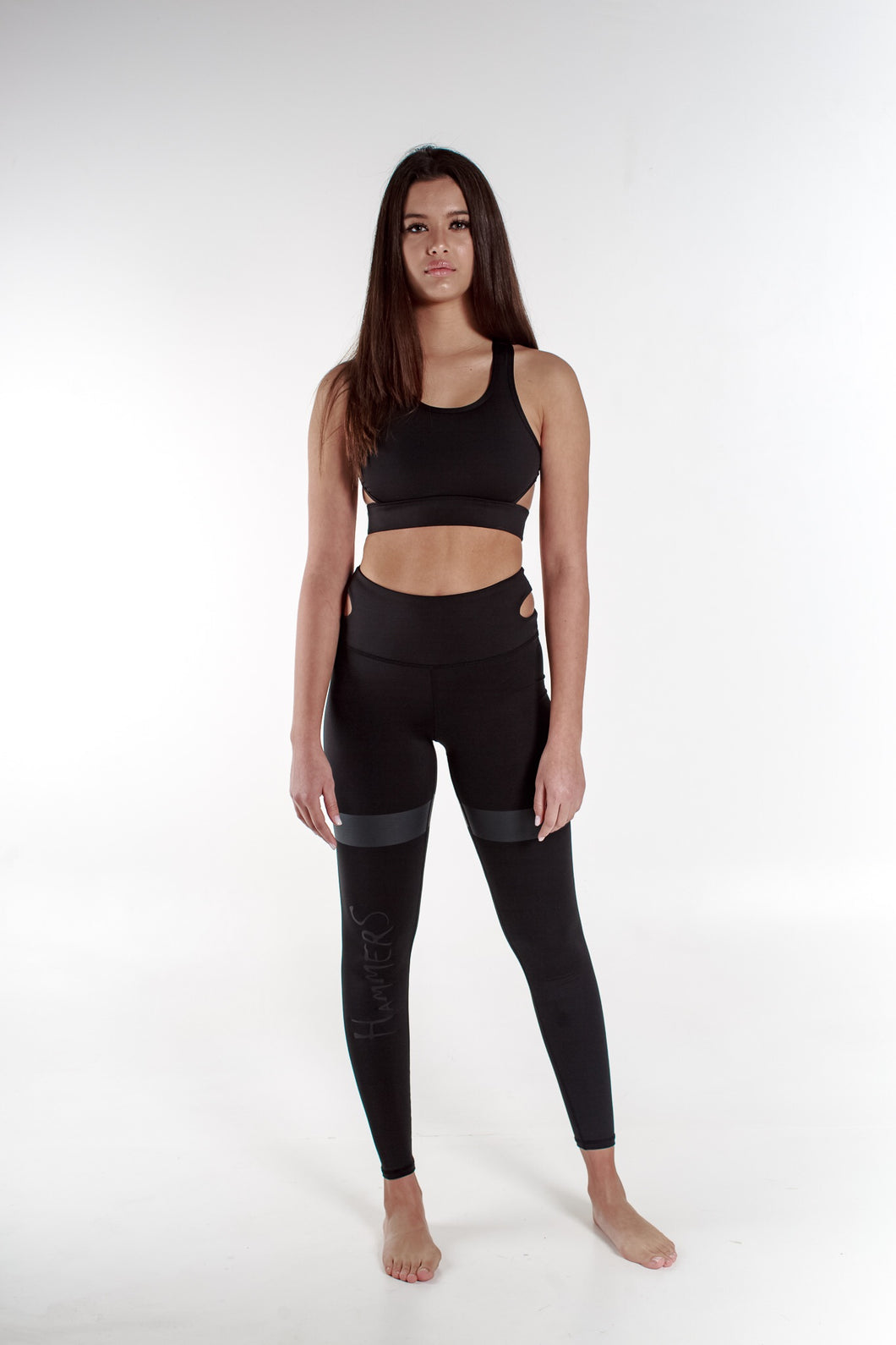 HIGH WAIST MIDNIGHT SLICE LEGGING