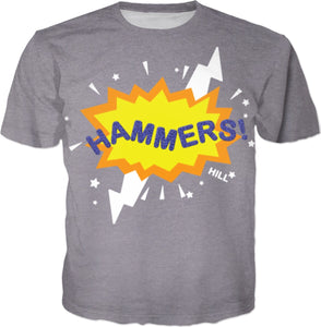 HAMMERS BURST T-SHIRT (GREY)