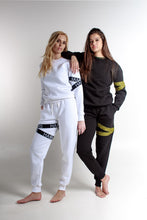 LOGOMANIA CAUTION TAPE TRACKSUIT SET