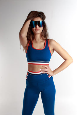 TRICOLOR CUT OUT BRA