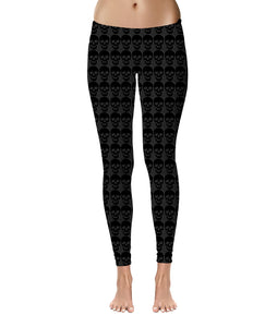HAMMERS SKULL LEGGINGS