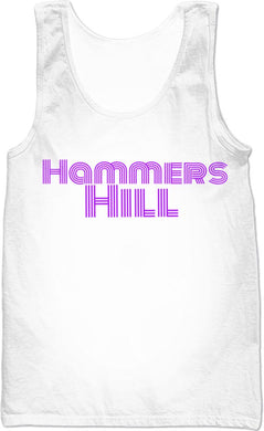 HAMMERS PURPLE REIGN SLEEVELESS SHIRT