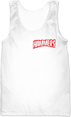 HAMMERS RED SPLASH SLEEVELESS SHIRT