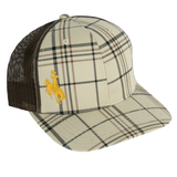 Richardson Plaid Trucker Mesh