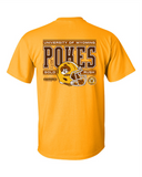 Pokes Football Gold Rush